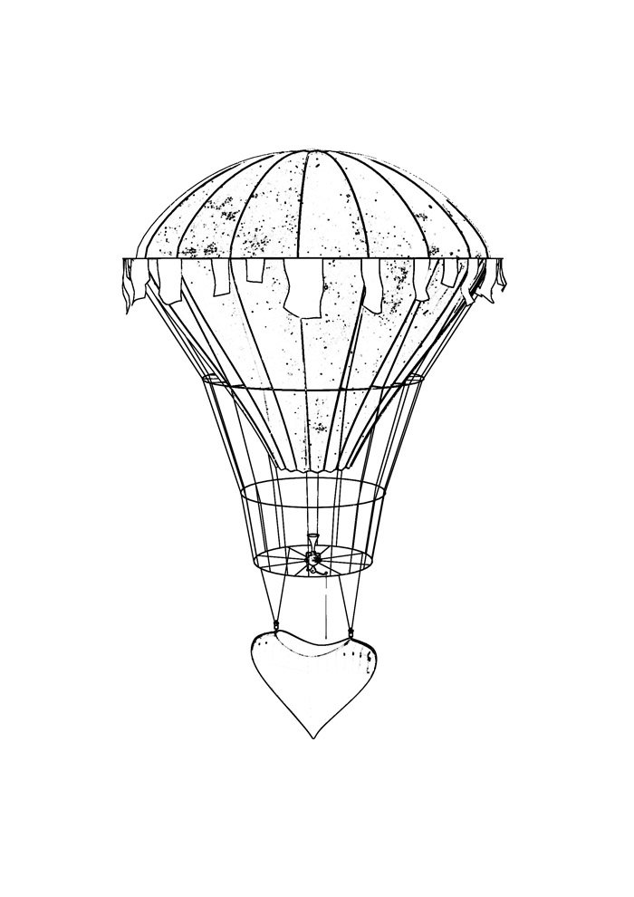 coloriage ballon 7