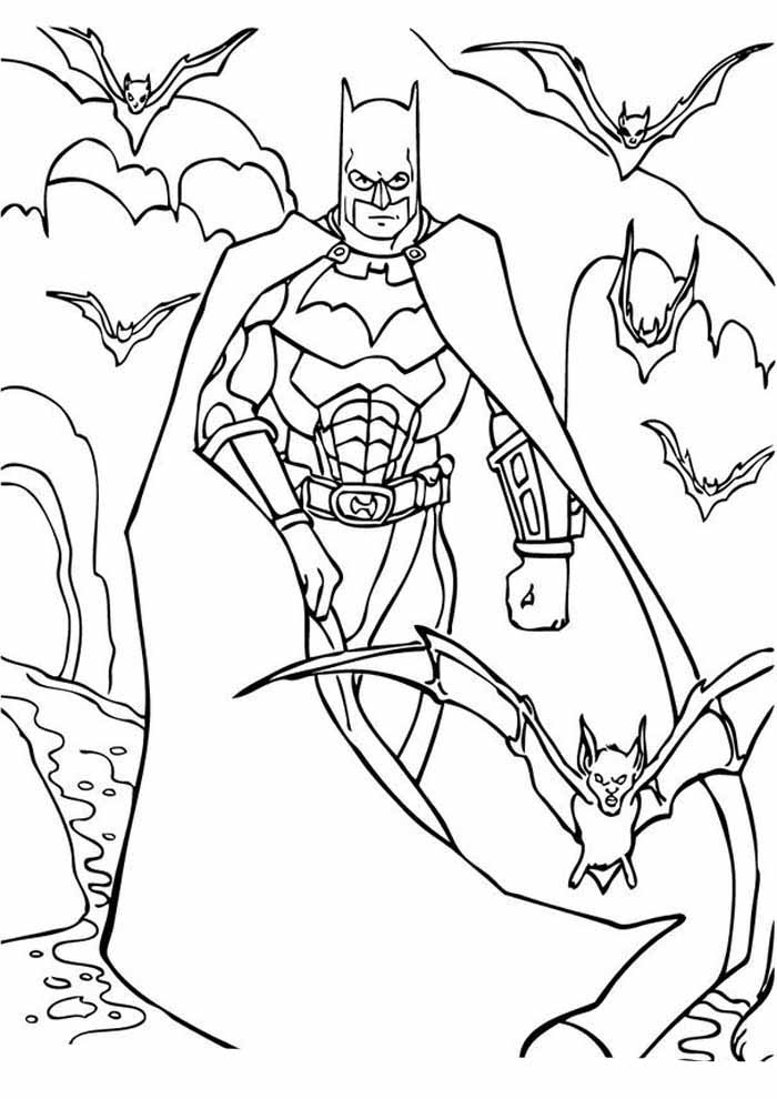 coloriage batman 13