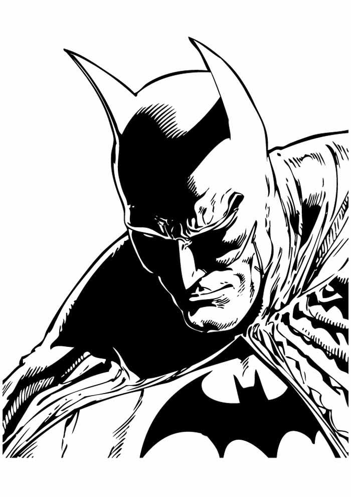 coloriage batman 23