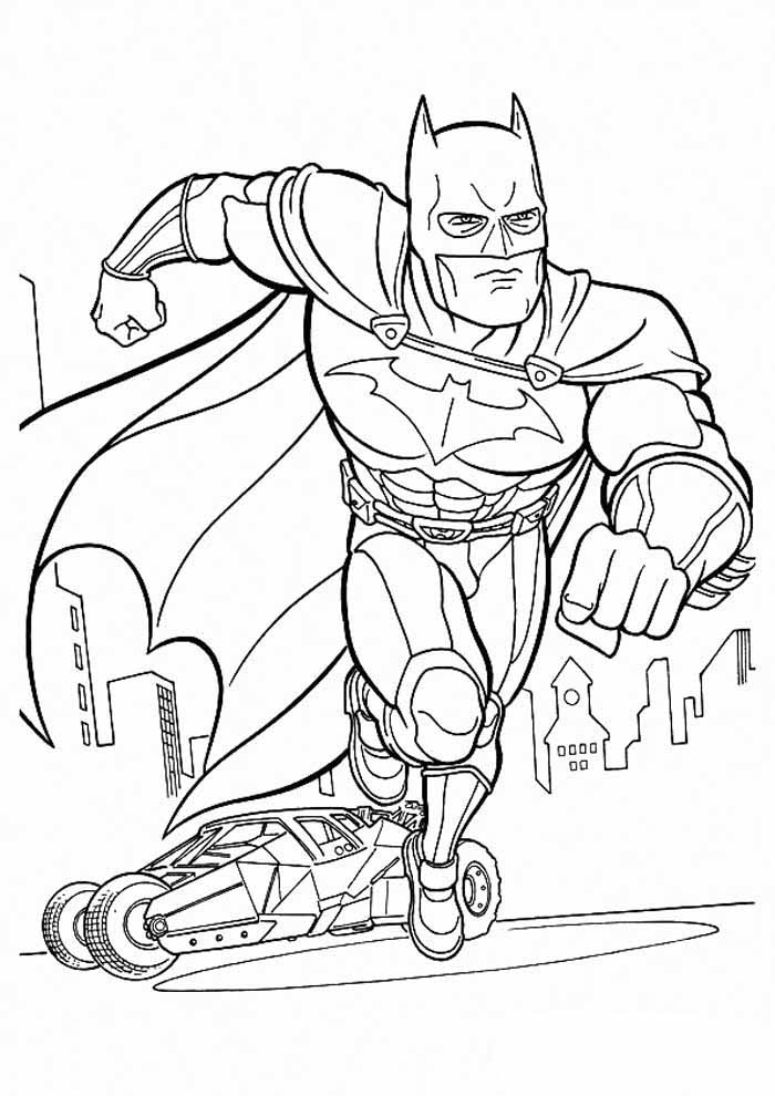 coloriage batman 6