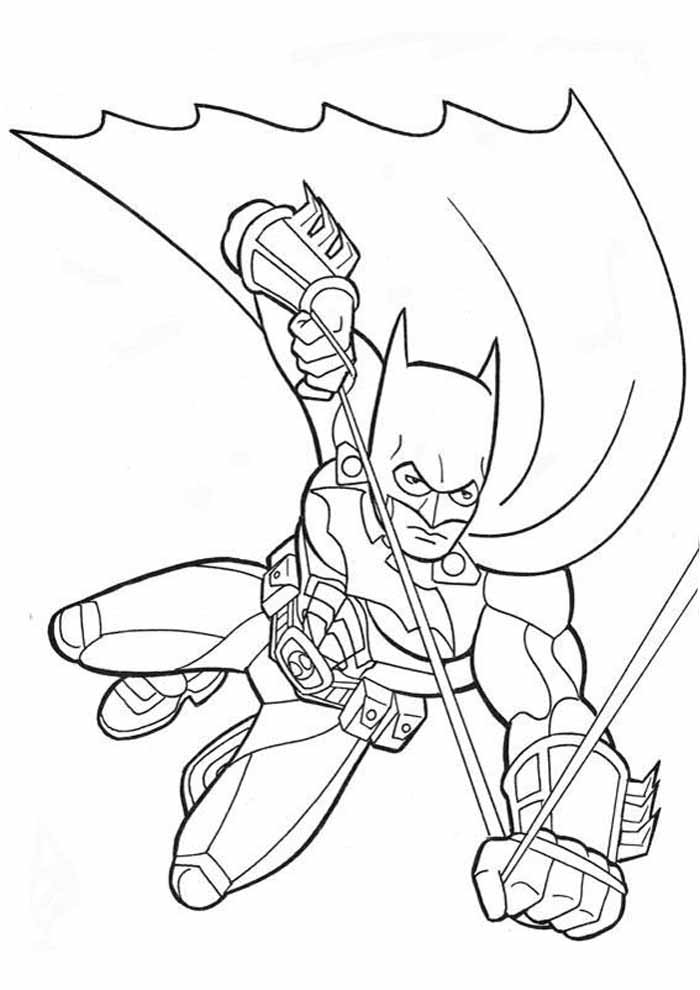 coloriage batman 8