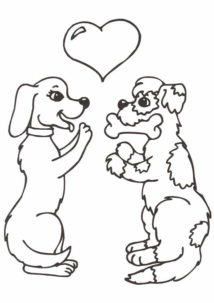 coloriage chien 53