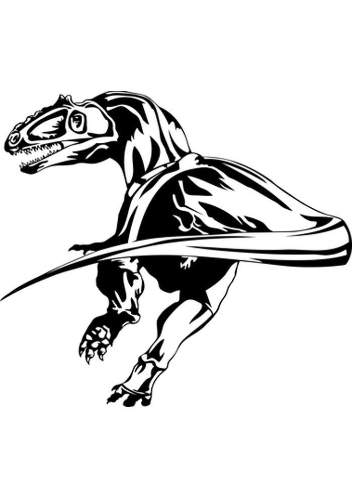 coloriage dinosaure 15