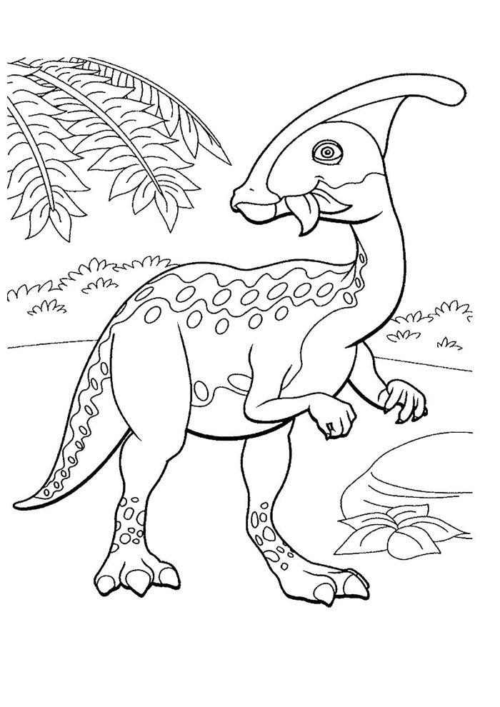 coloriage dinosaure 31