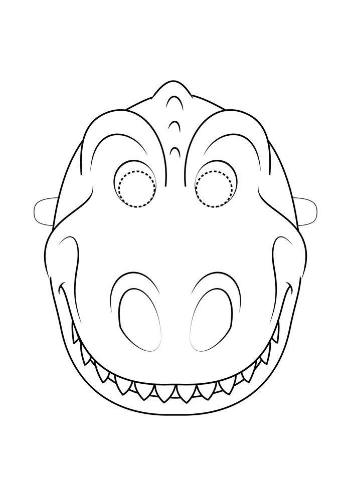 coloriage dinosaure 35