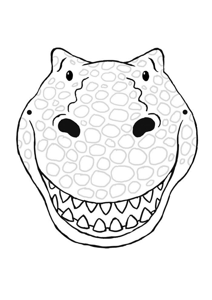 coloriage dinosaure 42