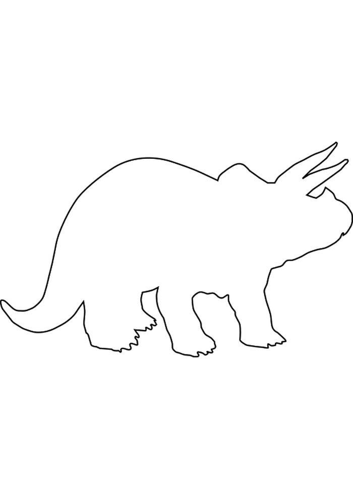 coloriage dinosaure 6