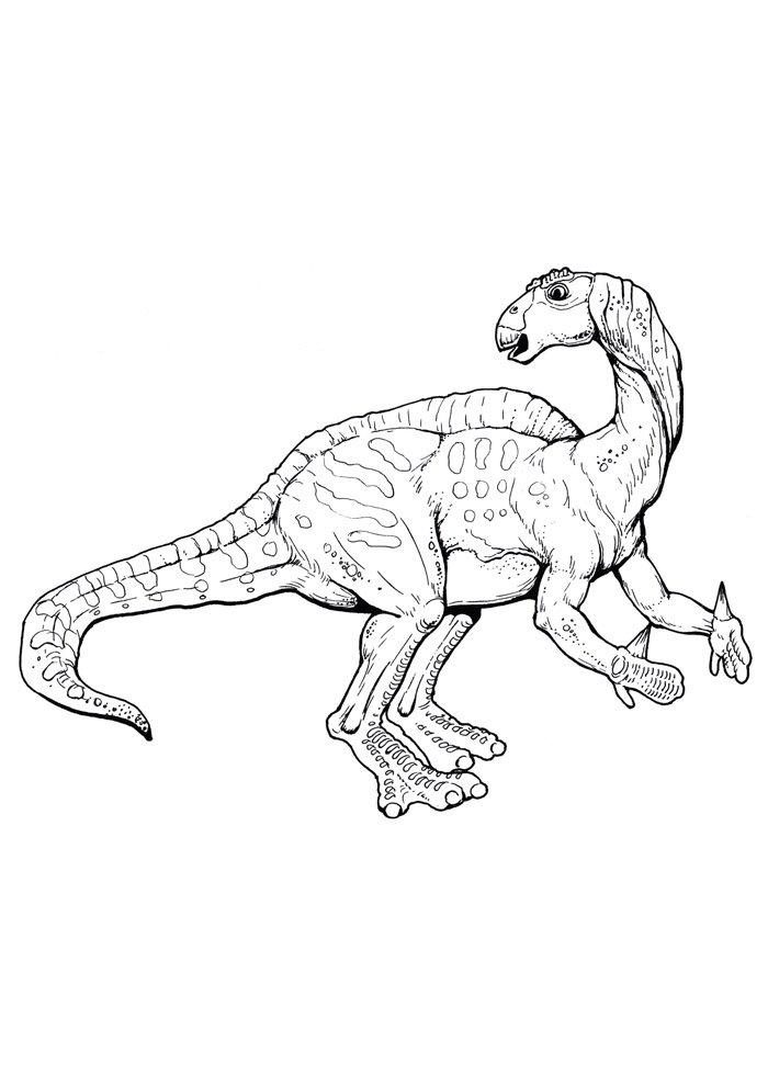 coloriage dinosaure 74