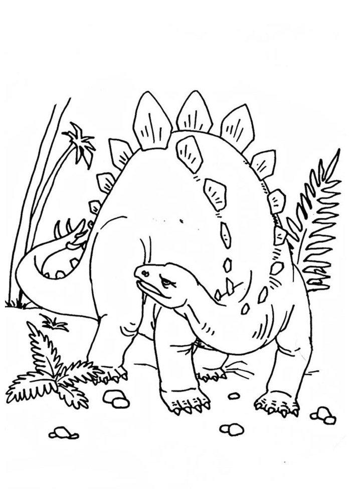 coloriage dinosaure 81