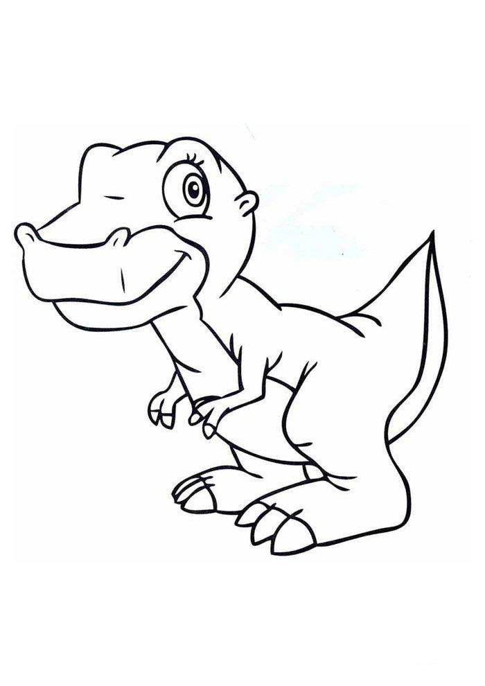coloriage dinosaure 82