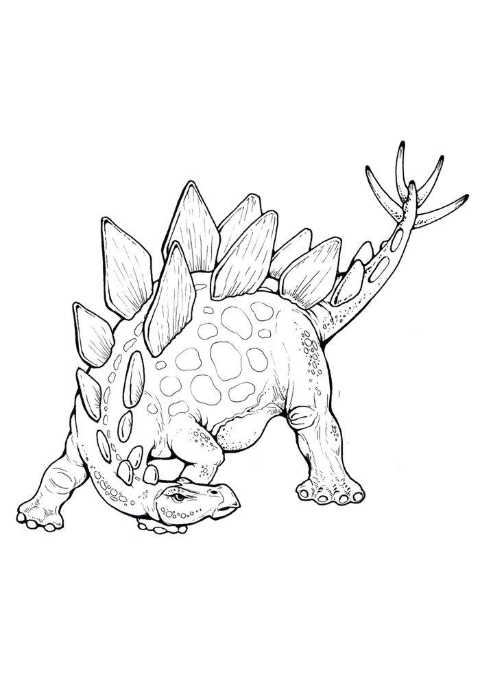 coloriage dinosaure 94