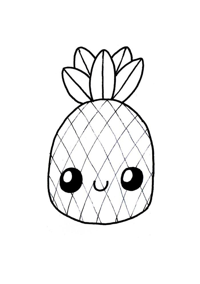 72 Coloriage Kawaii | Coloring Pages