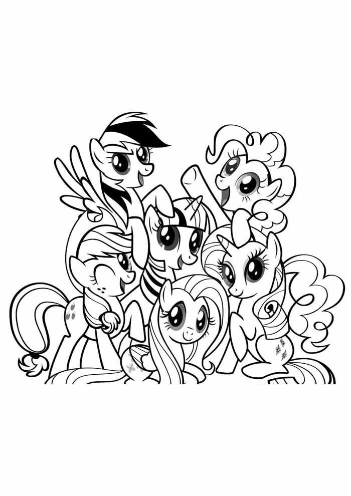 coloriage my little pony 58