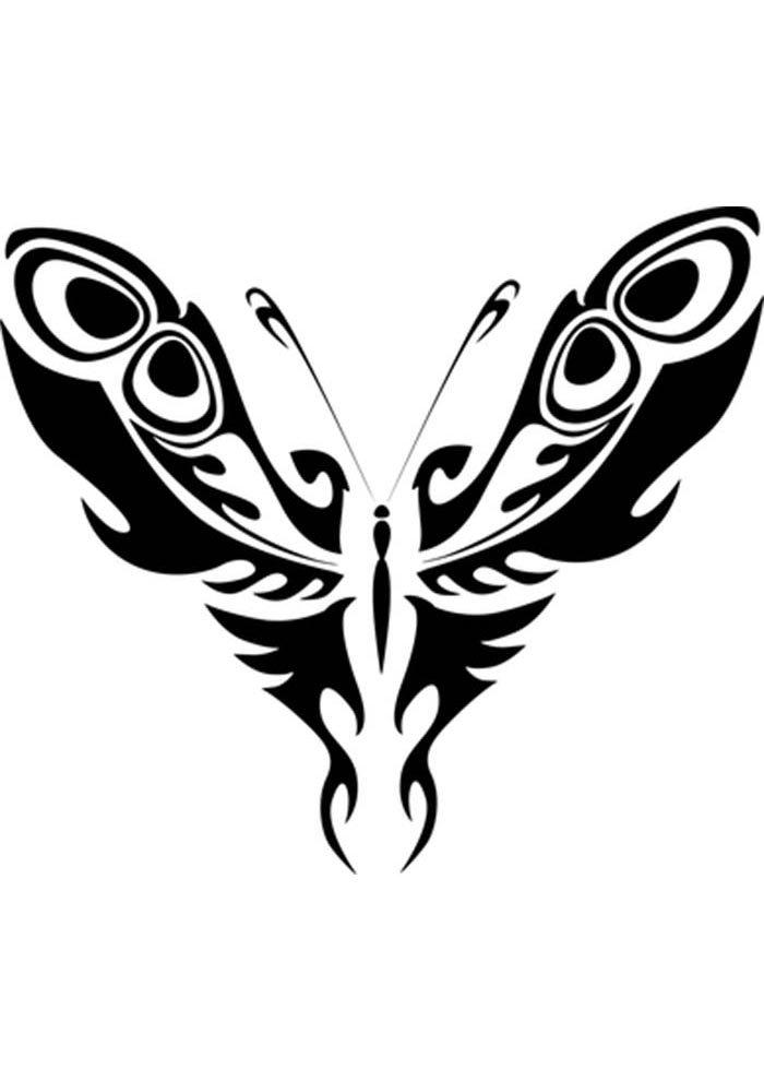 coloriage papillon 12