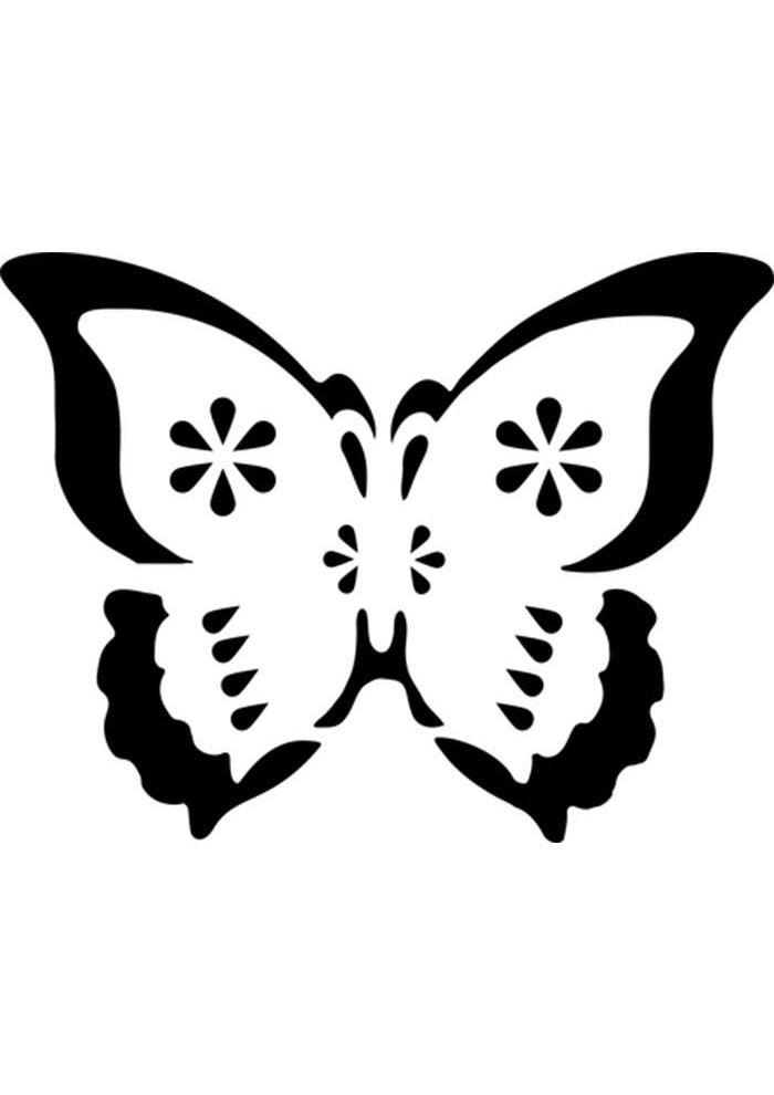 coloriage papillon 21