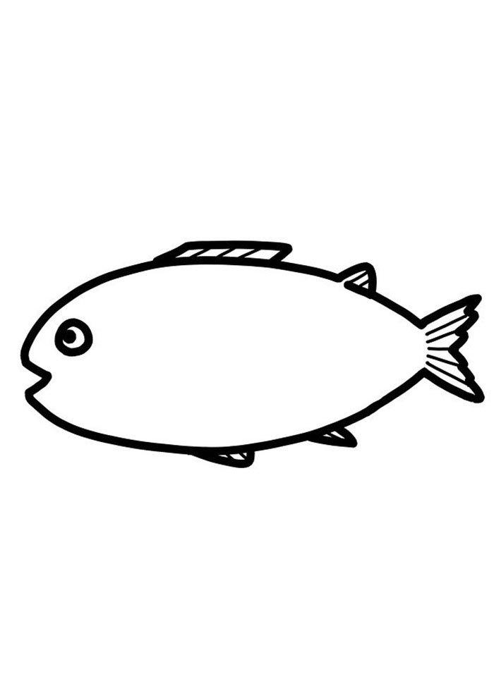 coloriage poisson 12