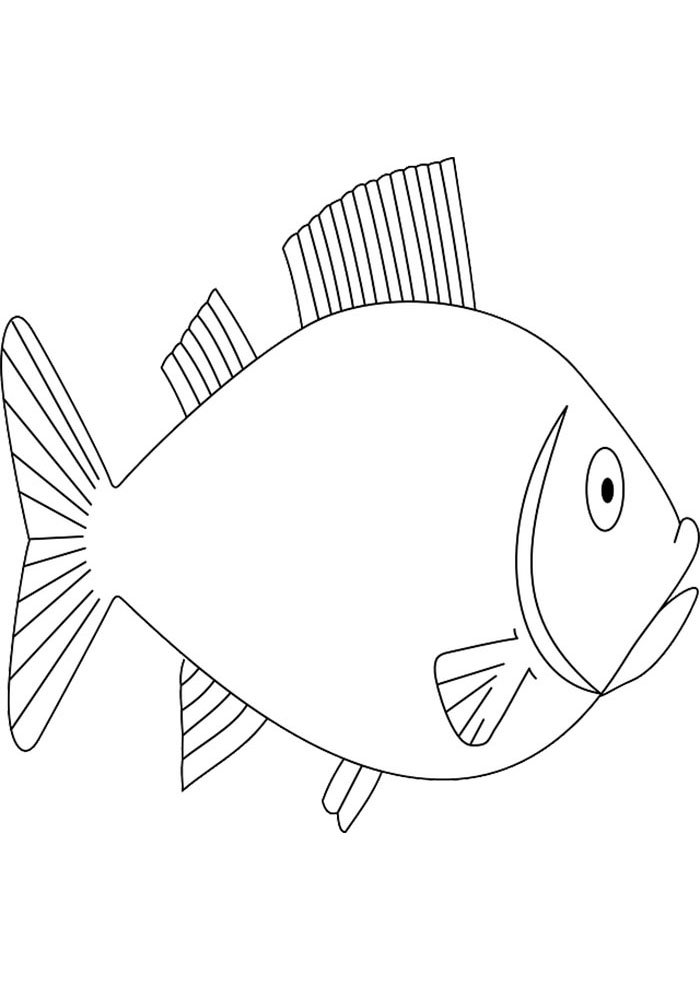 coloriage poisson 15