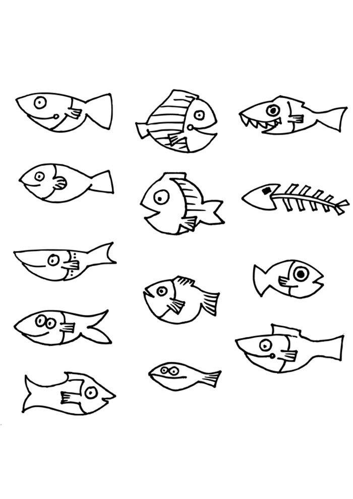 coloriage poisson 21