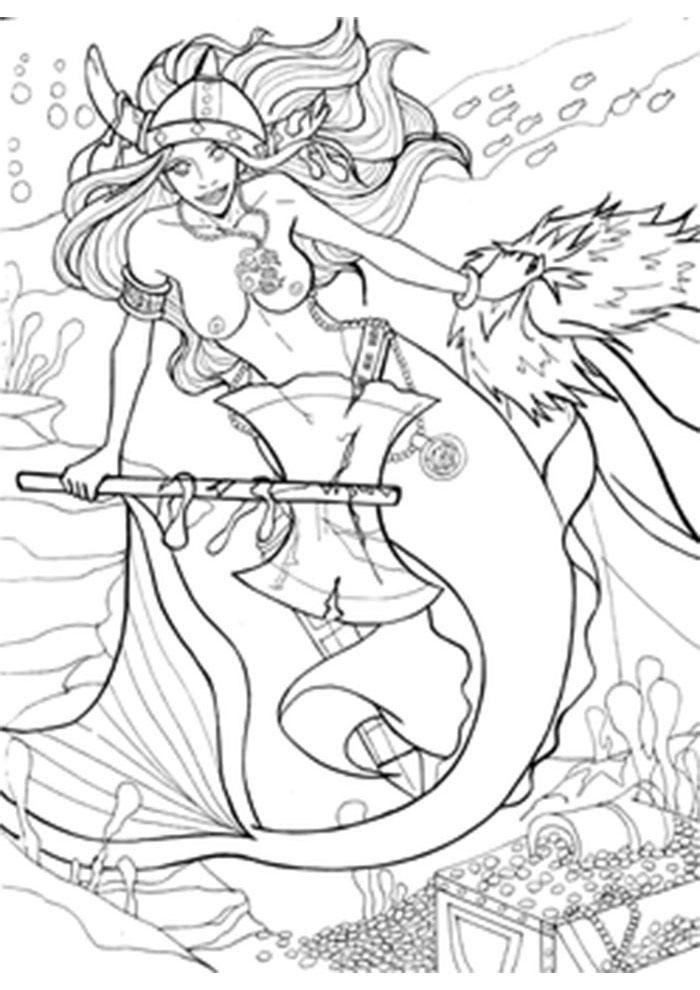 coloriage poisson 28