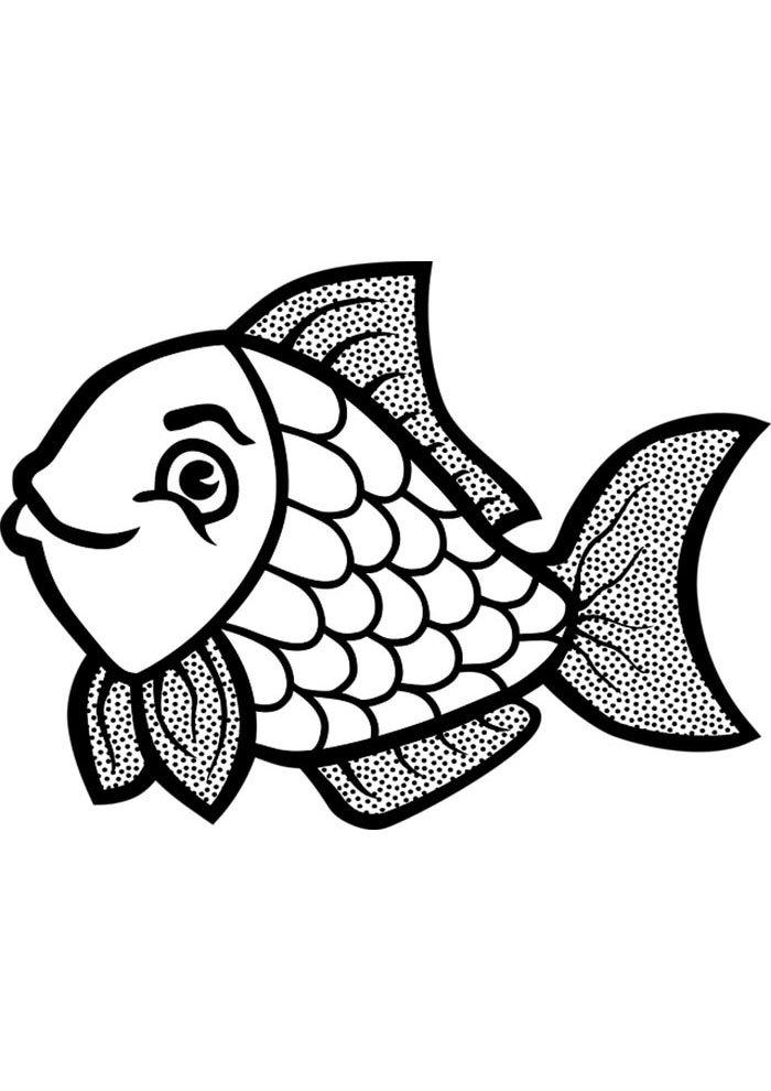 coloriage poisson 32