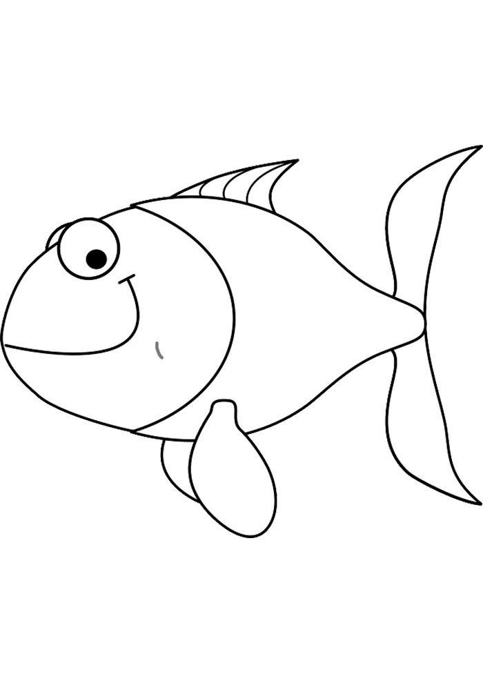 coloriage poisson 7