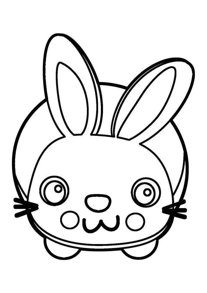 conejo para colorear 10 1