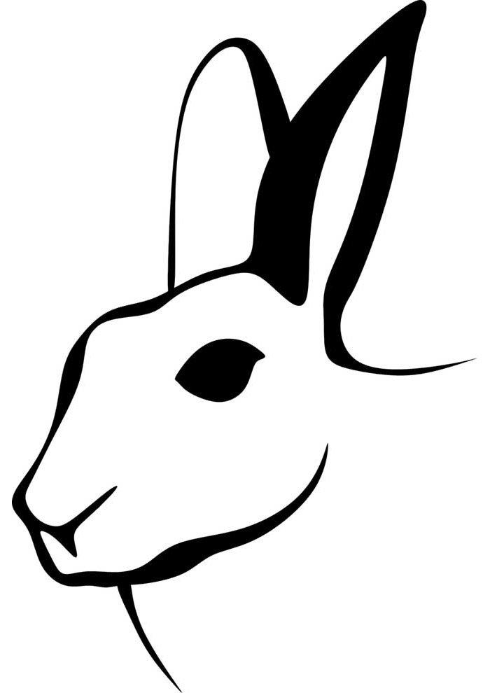 conejo para colorear 19 1