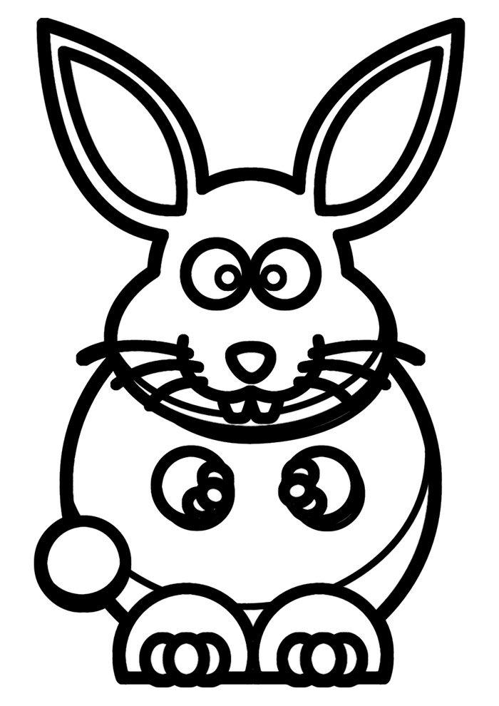conejo para colorear 7 1