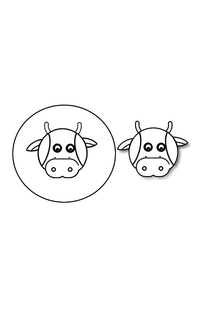 cow coloring page 34