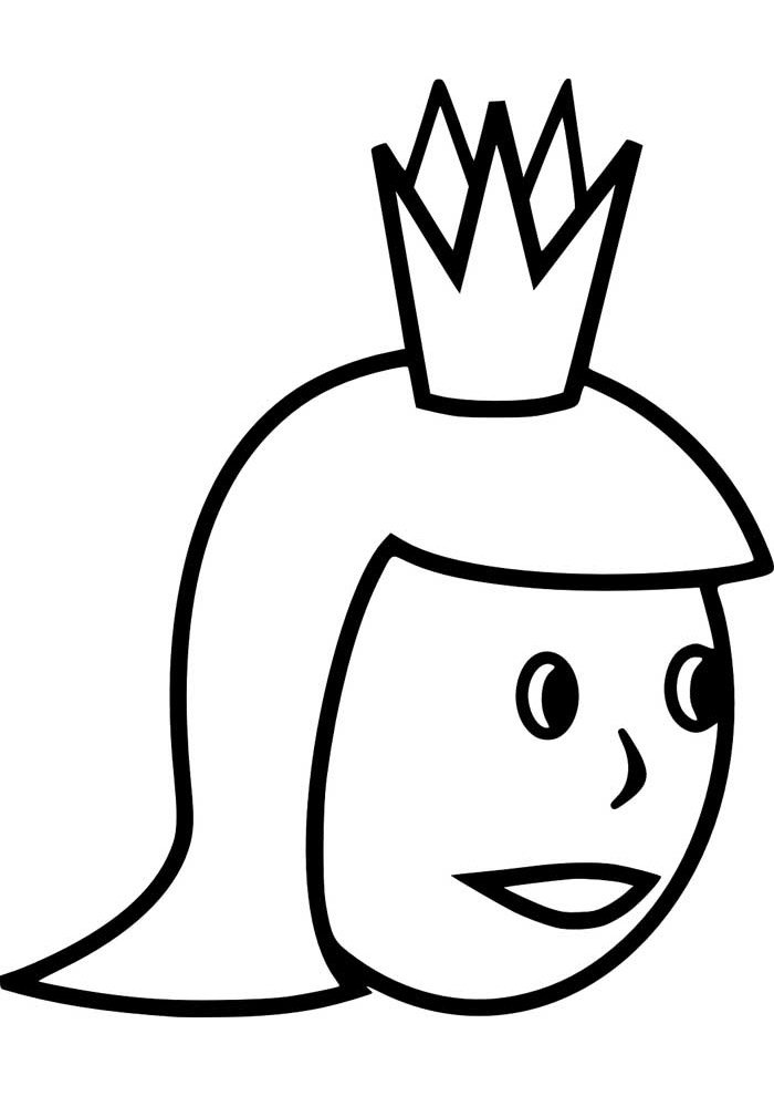 crown coloring page 9