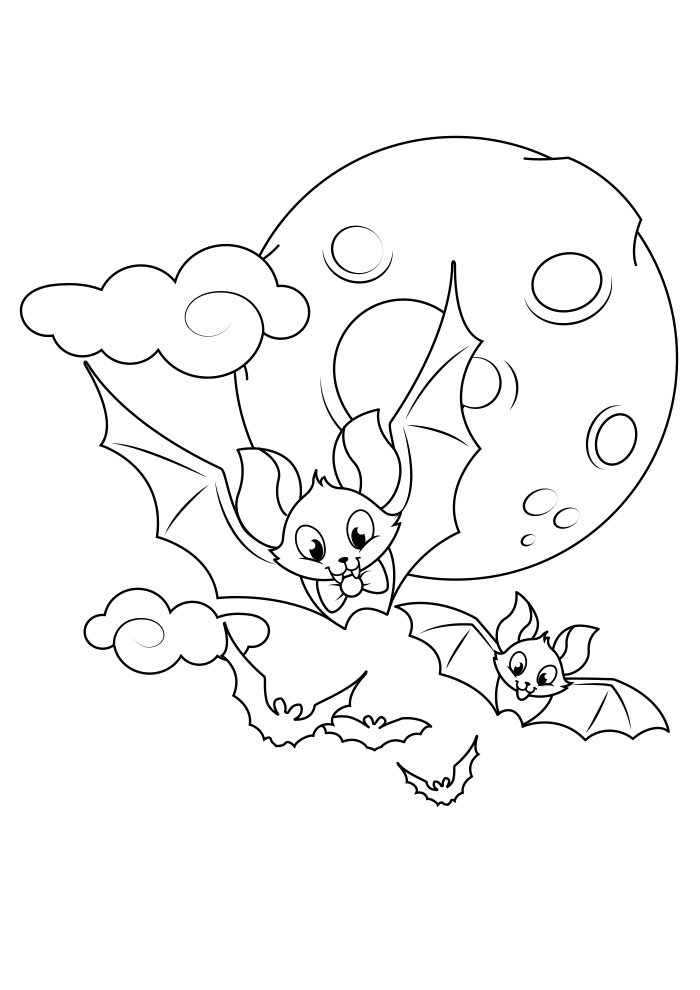 dibujo para colorear de halloween 6