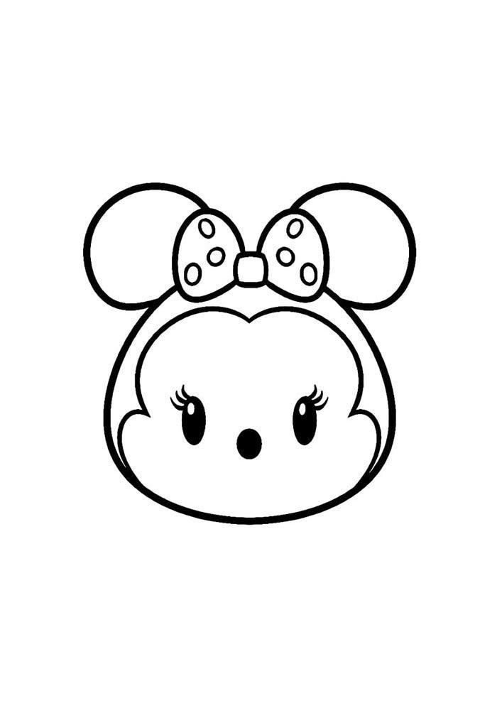 dibujos kawaii para colorear 4