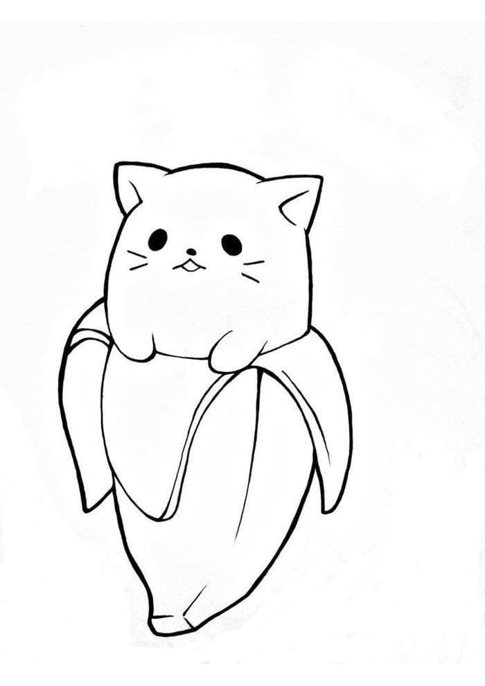 dibujos kawaii para colorear 6
