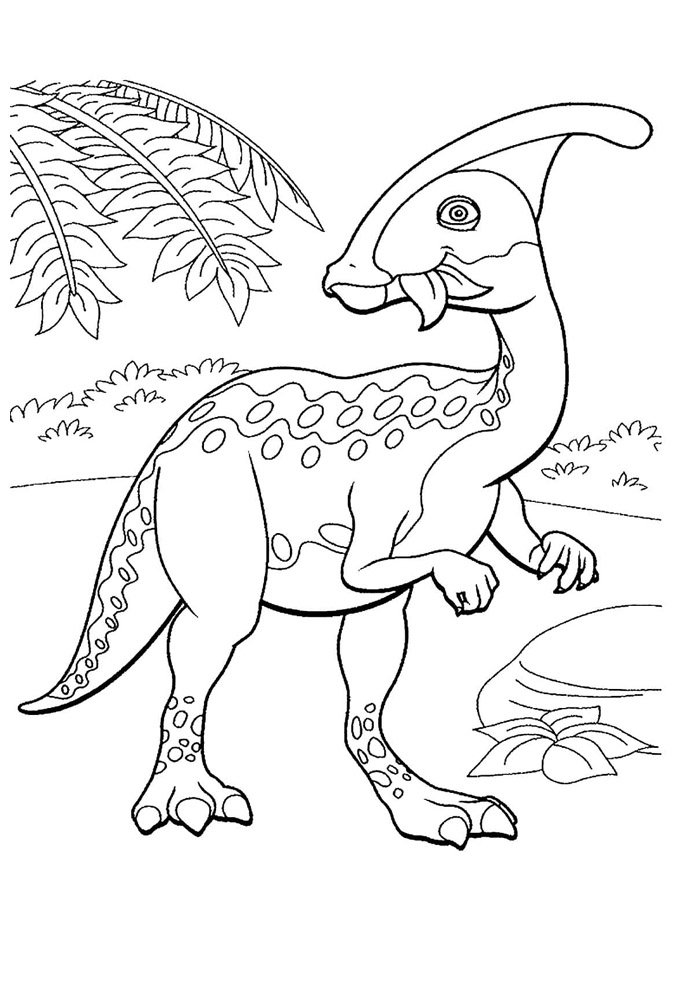 dinosaurio para colorear 31