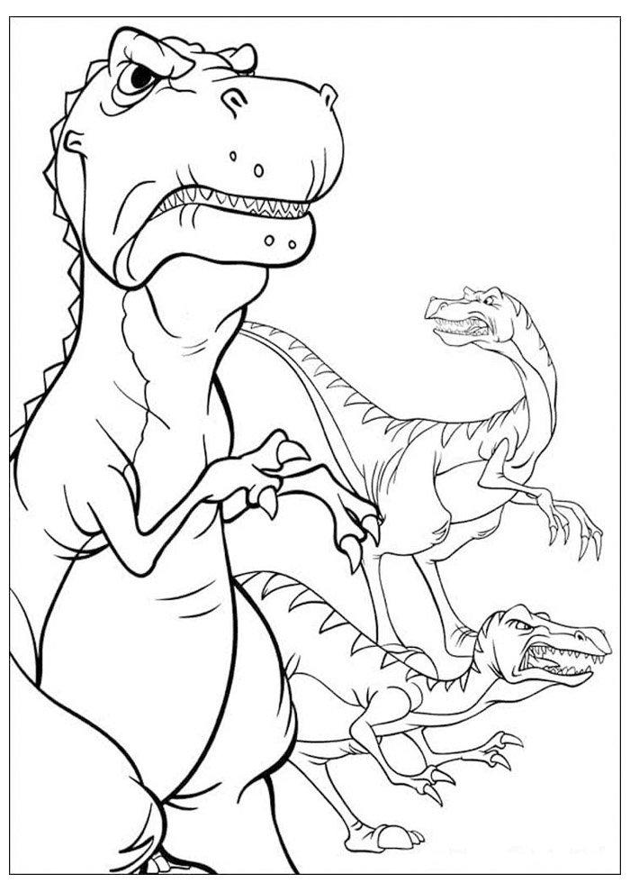dinosaurio para colorear 53
