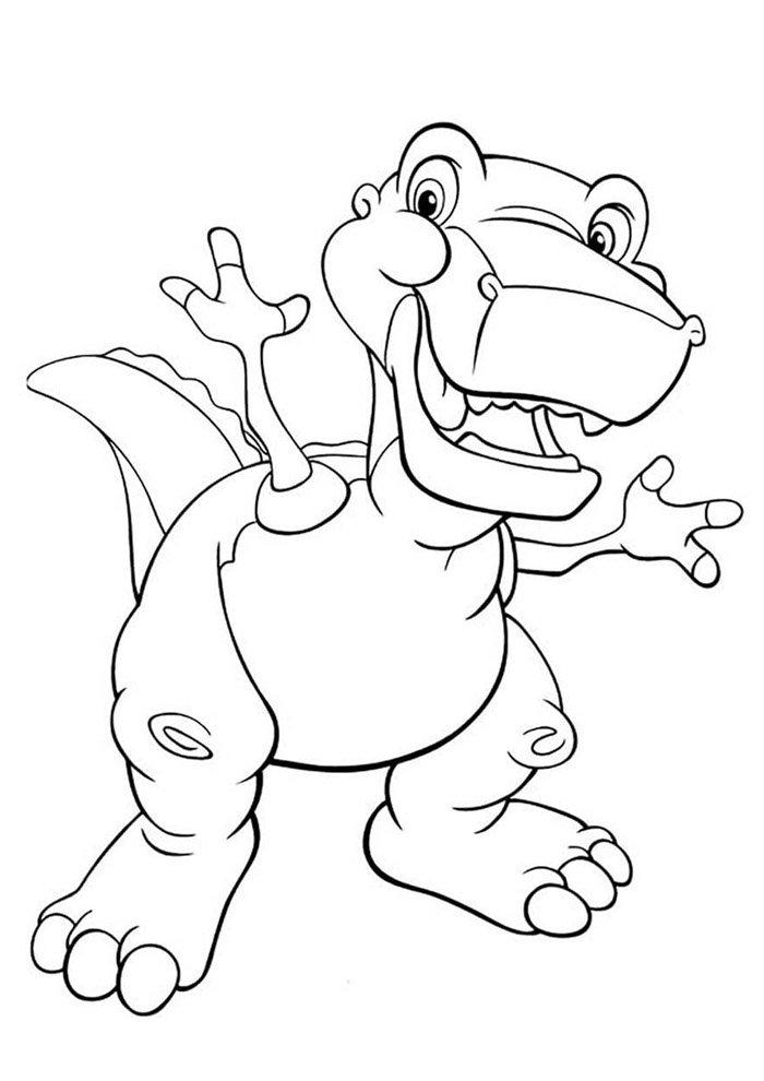 dinosaurio para colorear 60