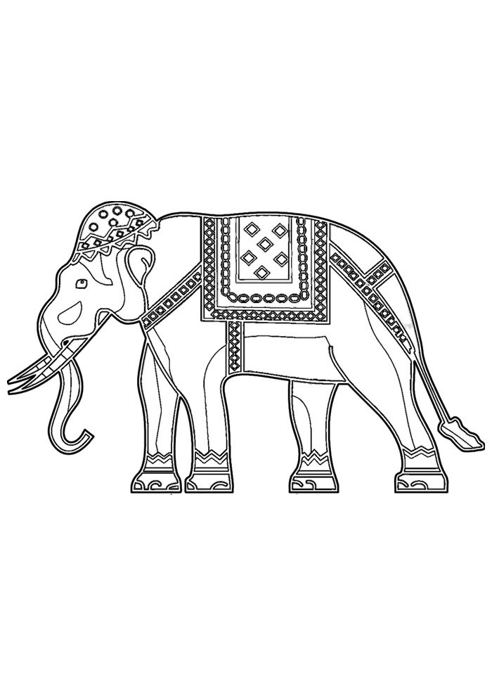 Cute Elephant Coloring Pages Tag: 27 Outstanding Cute Elephant ... | 990x700