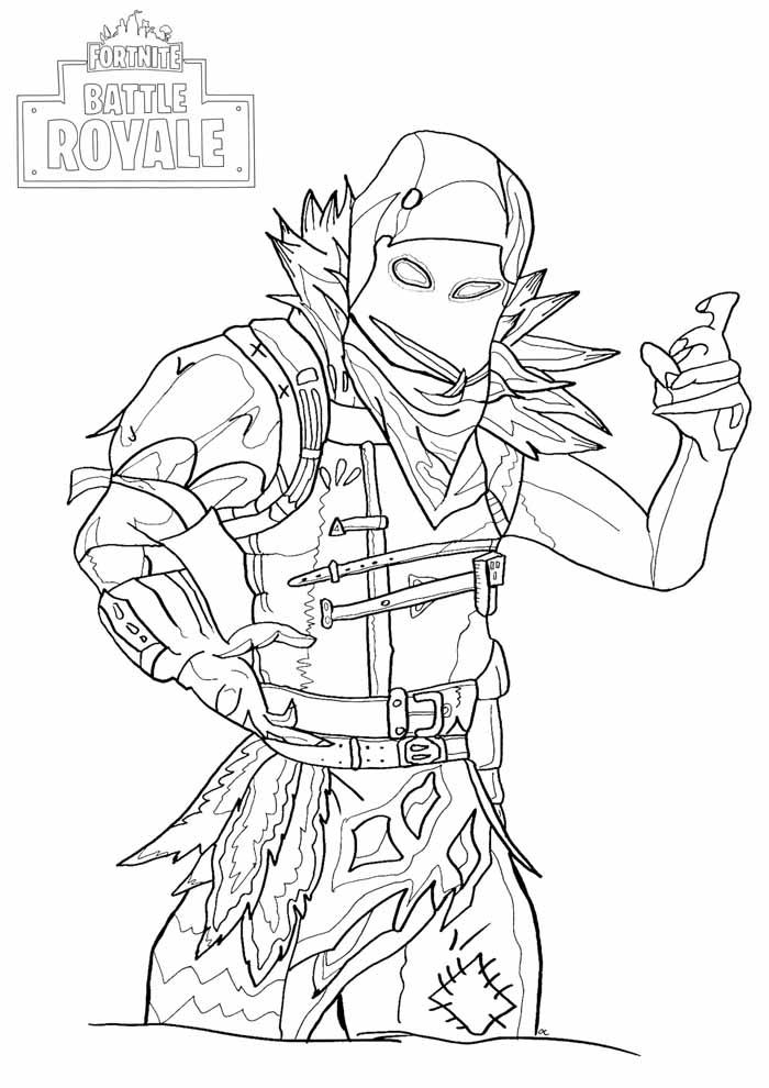 fortnite battle royale coloring page 10