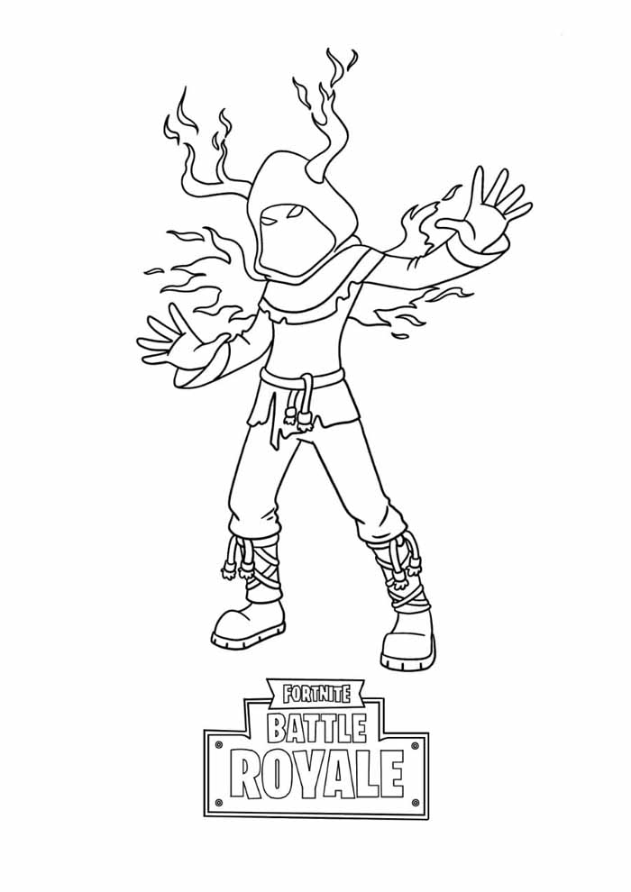 fortnite battle royale coloring page 15