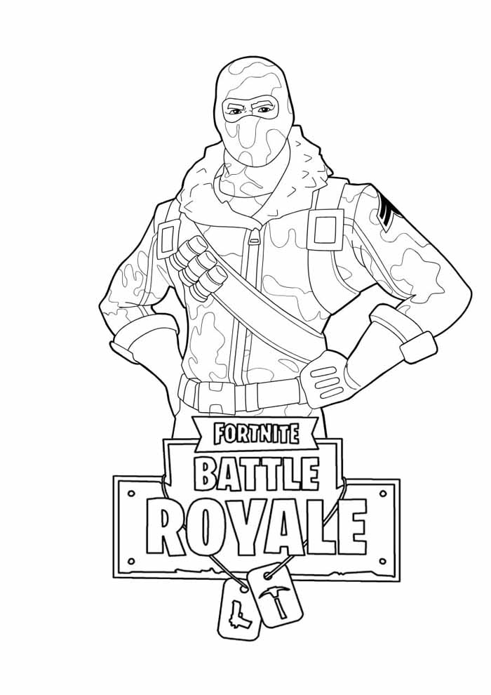 fortnite coloring page 10