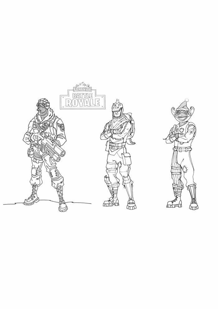 fortnite coloring page 13