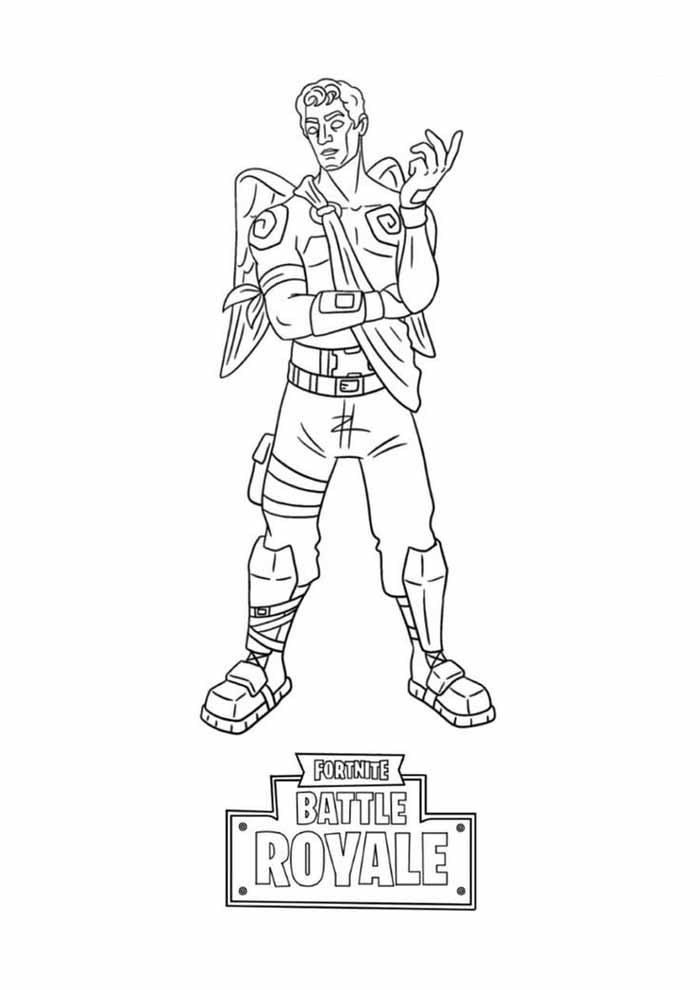 fortnite coloring page 15