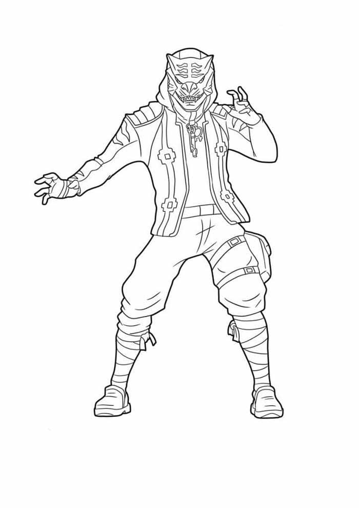 fortnite coloring page 16