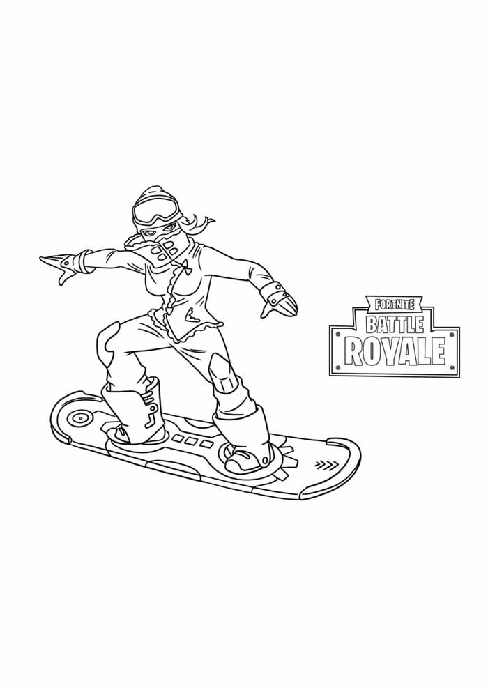 fortnite coloring page 18