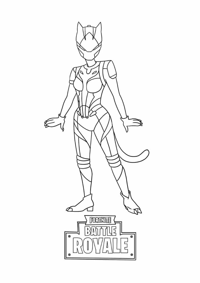fortnite coloring page 19