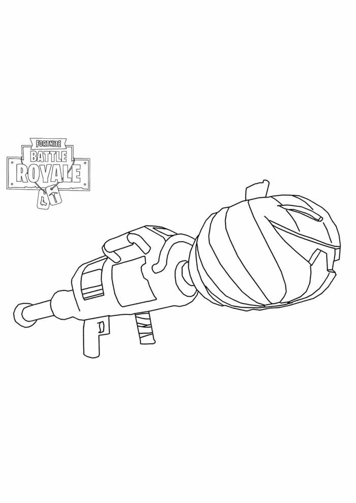 fortnite coloring page 20
