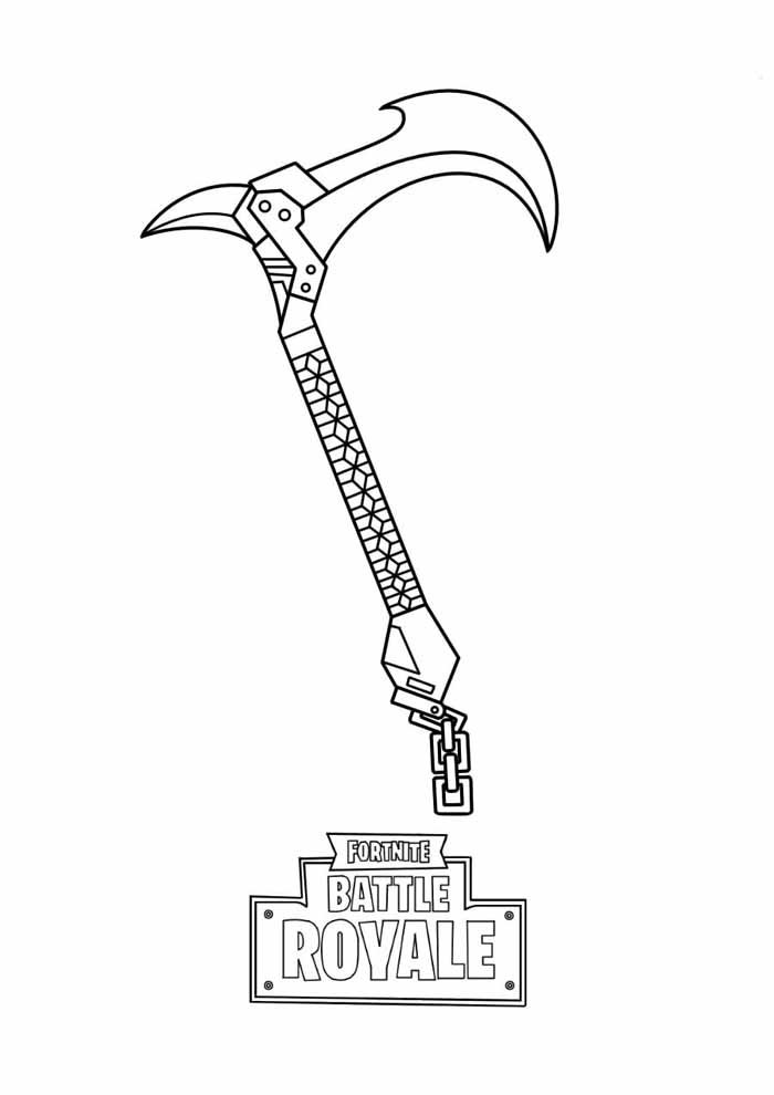 fortnite coloring page 21