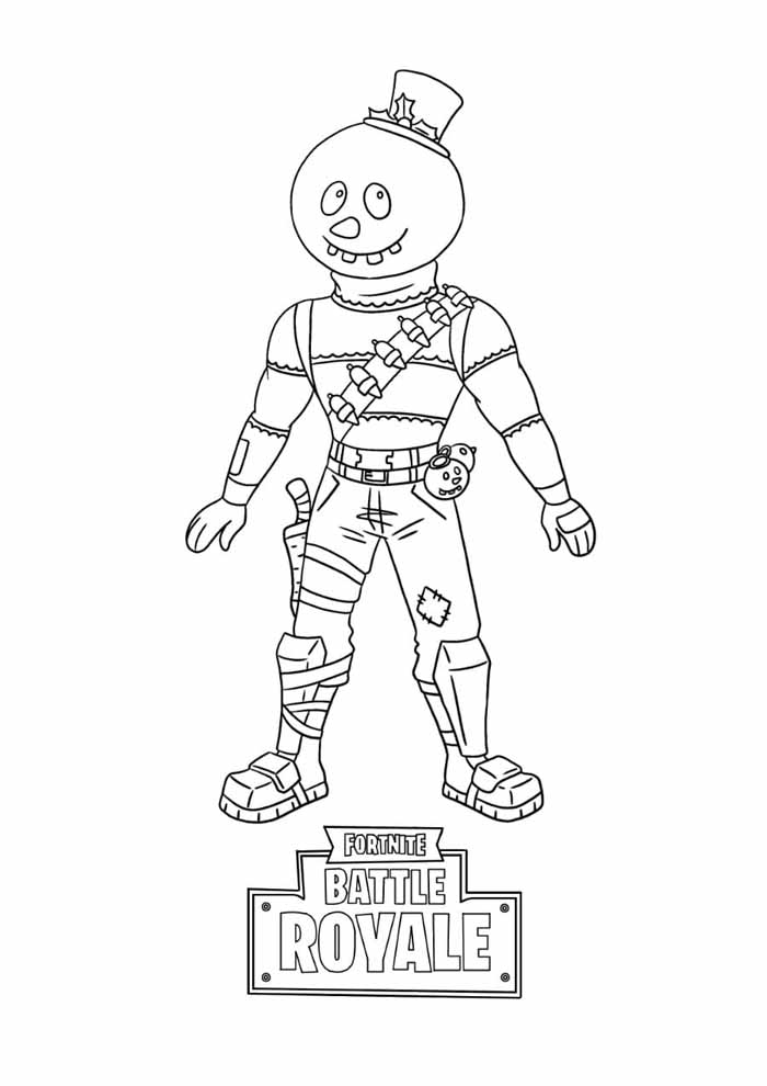 fortnite coloring page 22