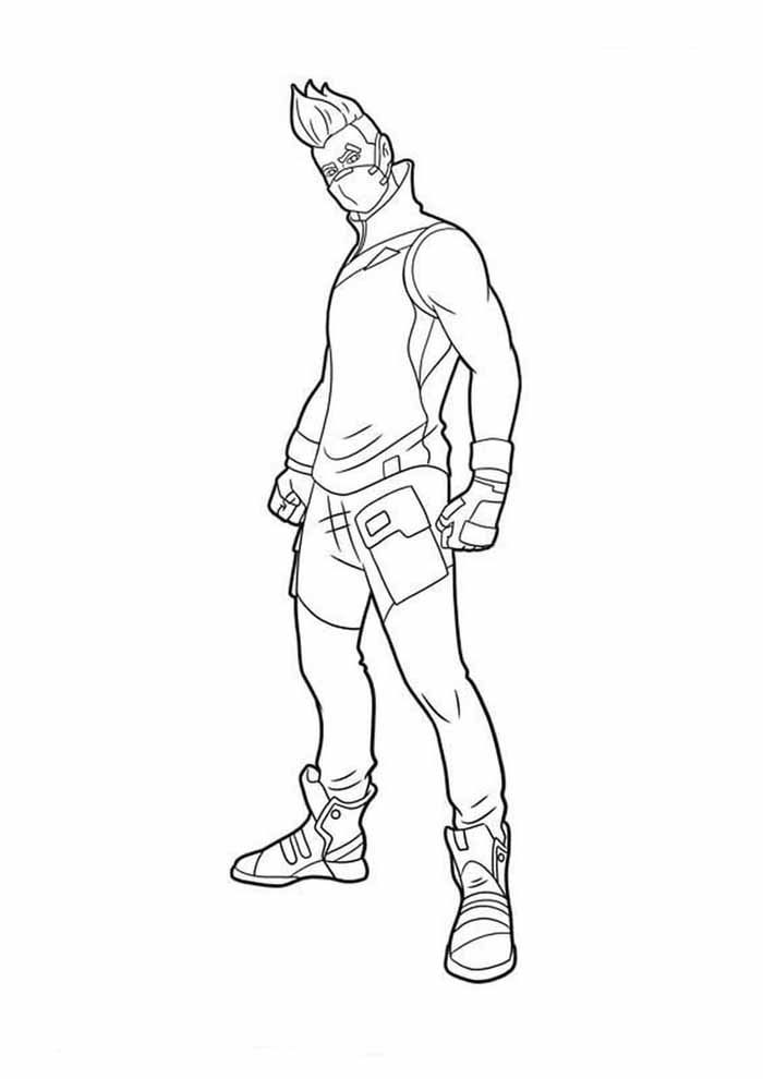 fortnite coloring page 23