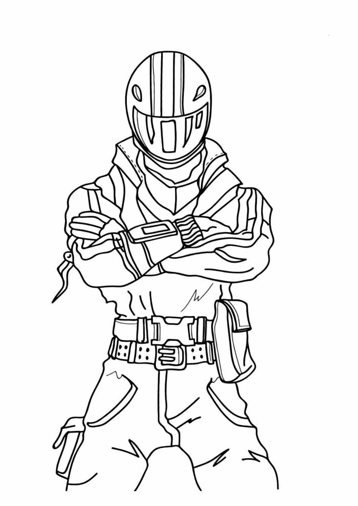 fortnite coloring page 3